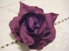 como hacer flores de tela para el trajes de flamenca