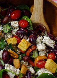 greek salad. A fan favorite