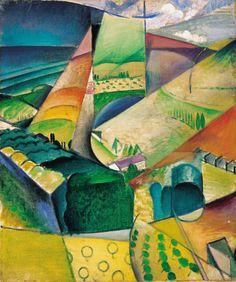 SZOBOTKA Imre: Landscape, 1914
