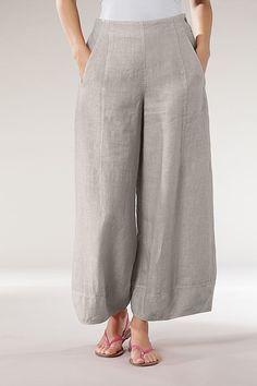Trousers Bastienne -100% Linen