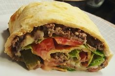Low-Carb Big Mac Rolle 1