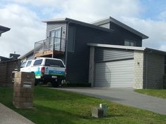 This is our house! Except with a garage, a different roofline & different cladding.