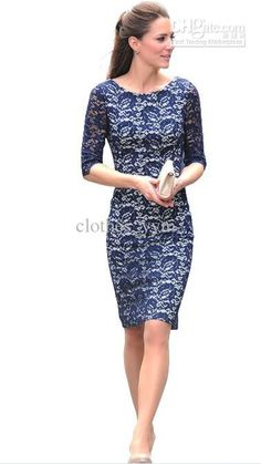 Found this photo from google, princess Kate always look amazing on lace