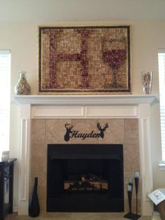 1600 wine corks later#Pin By:Pinterest++ for iPad#