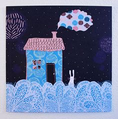 Piirre Collective - Christmas card collection 2014 Illustration Art, Illustrations, Home Pictures, Christmas Cards, Snoopy, Graphic Design, Prints, Fictional Characters, Inspiration
