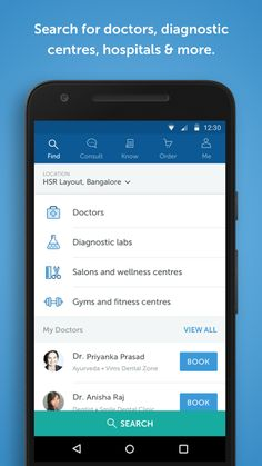 Practo Android App – MaterialUp