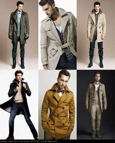 Men's guide on how to pull off a trench coat