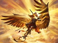 Magic: the Gathering - Boros Baby !Sweet new art for Aurelia, the Warleader from artist Paul Scott Canavan. This iconic Angel is to be one of the spicy reprints in the soon to be released Guild Kits. Foto Fantasy, Fantasy Girl, Dark Fantasy, Angel Warrior, Fantasy Warrior, Fantasy Artwork, Wie Zeichnet Man Manga, Mtg Art, Ange Demon