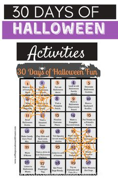 Halloween Family Activities you can do at home #holiday #fall #fun #free Halloween Celebration, Halloween Desserts, Halloween Party Costumes, Halloween Activities, Activities To Do, Halloween Party Decor, Halloween Treats, Halloween Pumpkins, Halloween Movie Night