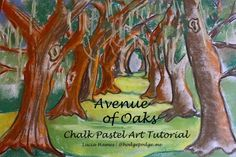 St. Simons Island - Avenue of Oaks Chalk Art Tutorial