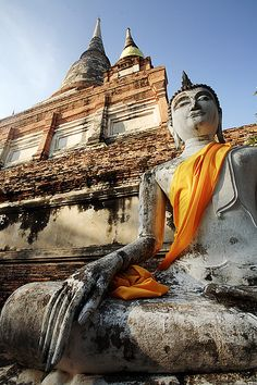 lotusunfurled: by Jim Shannon Lord Buddha Ayutthaya, Thailand, South East Asia Thailand Destinations, Thailand Honeymoon, Thailand Travel, Asia Travel, Travel Route, Places To Travel, Places To Go, My Adventure Book, Adventure Tours