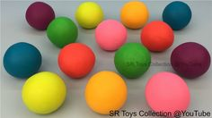 Learn Colors with Play Doh Balls with Hello Kitty Molds Fun and Creative...