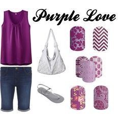 Jamberry Purple Love by carolynjoycesd on Polyvore featuring Uniqlo, Dorothy Perkins, Havaianas, Girltalkjn, teatimejn, LadyLaceJN, BoysenberryChevronJN and desertatkduskjn