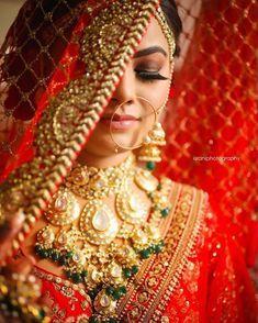 Best Wedding Photographers from India - Dulhaniyaa Indian Bride Photography Poses, Indian Bride Poses, Indian Wedding Poses, Indian Bridal Photos, Bridal Photography, Bridal Portrait Poses, Bridal Poses, Bridal Photoshoot, Bollywood