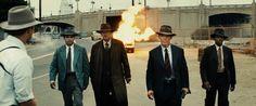 Josh Brolin, Robert Patrick, Michael Peña, and Anthony Mackie in Gangster Squad: Brigada de élite (2013)