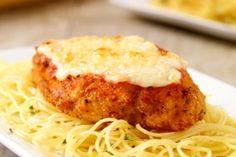 Unbelievably easy chicken parmesian by Devin Alexander featured on Dr. OZ