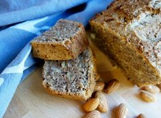Das Rezept ist super… Vegan nut cake without sugar, or simply nut bread. The recipe is super simple and comes with few ingredients. As sweet serve only a … Low Carb Desserts, Vegan Desserts, Vegan Recipes, Cooking Recipes, Healthy Banana Bread, Happy Foods, Vegan Treats, Cupcake Recipes, Cake Cookies