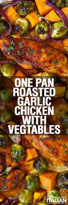 We are so excited to be partnering with Lipton to bring you this post. The opinions are 100% my own.      One Pan Roasted Garlic Chicken is ...