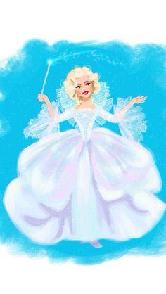 Fairy godmother iPhone wallpaper