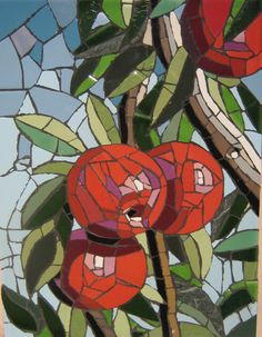 Amazing Mosaics Perth, Animal Mosaics, Fruit Mosaics, Tiled Art, Paintings from… Mosaic Crafts, Mosaic Projects, Stained Glass Projects, Stained Glass Art, Mosaic Artwork, Mosaic Wall Art, Mosaic Tiles, Mosaic Mirrors, Mosaic Designs