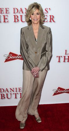 Jane Fonda attends the premiere of the Weinstein Company's 'Lee Daniels' The Butler' at Regal Cinemas L.A. Live in Los Angeles