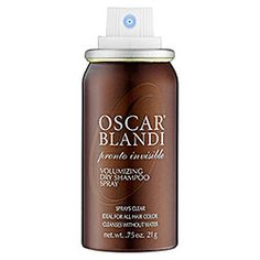 Oscar Blandi Pronto Dry Shampoo Invisible Spray - Pronto Dry Shampoo Invisible Spray 1.4 oz  #sephora. for those of you who wear braids, sew ins or go days with out shampooing your hair this is the product for you. It doesn't leave a white powder in your hair and has a good scent