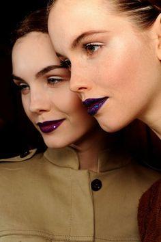 Colores ochenteros en los labios