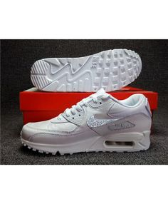super cute d9006 e44ef Air Max 90 Crystal Original White Trainer