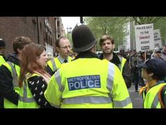 Kettling the Cops - just a friendly kettle.