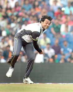 Bobby Deol at a CCL match at the DY Patil Stadium in Navi Mumbai. #Style #Bollywood #Fashion