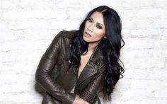 Download wallpapers Anggun, 4k, RnB, indonesian singer, Anggun Cipta Sasmi, beauty, bruntte