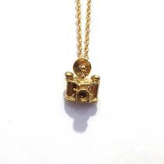 My design inspiration: Tiny Camera Necklace on Fab.