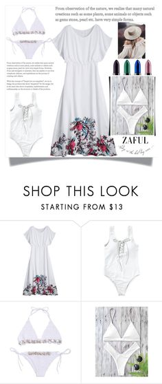 """""""White is great idea"""" by melissa995 ❤ liked on Polyvore"""