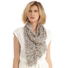 "Sole Society ""dot print scarf"", $29.95"
