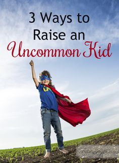 Sami Cone shares 3 ways to raise an uncommon kid on Tricia Goyer's blog. This Christian Parenting resource gives a quick glimpse into practical steps to bring compassion into your kids' hearts.