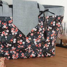 Karine.m sur Instagram: Deux Madison de #sacôtin avec de beaux tissus achetés au Japon. #japon #sacàmain #faitmainenfrance🇫🇷 #dıy #patronsacôtin #sactissu