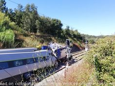 Head on collision involving Large Velocity prepare and a rail maintenance locomotive, 1 death 50 injured (31/07/2020) Soure, Portugal – just out #epic fails gifs , #fail moments , #funny pictures fails , #love fail , #pintrest fails    #Fail, #FailHumor, #FailsAtLife, #FailsMeme, #FailsTexting