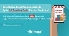 #Tatil döneminde kullanıcıların %19'u #perakende uygulamalarını kullanarak tatil alışverişi için araştırma yapıyor.   https://www.ticimax.com  #eticaret #sanalmağaza #eticaretsitesi #onlinesatış #ecommerce #mobilticaret #satışsitesi #ticimax