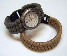 This tutorial will show how to make a paracord bracelet or watch band using a weaving method. More knot work with releated links and resources can be ...