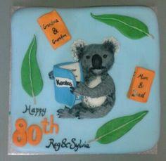 Koala Lots Of Cats, Album Book, Cake Creations, Vintage Ads, Album Covers, Pin Up, Dinosaur Stuffed Animal, Concept, Fantasy
