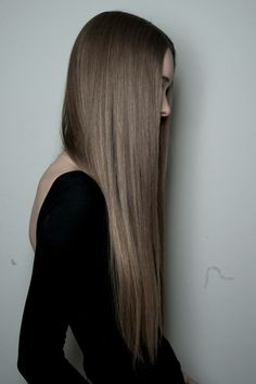Natural light brown/ash blonde long hair - so pretty and healthy