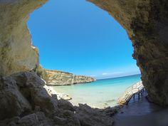 A beautiful beach near Otranto