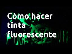 Cómo hacer tinta fluorescente (1080p) - YouTube Neon Party, To Tell, Told You So, Youtube, Instagram, Mykonos, Number, Halloween, Pictures