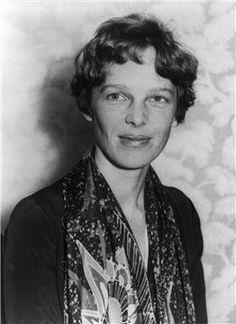 Amelia Earhart (1897 - 1937) As the first female aviator to fly solo across the Atlantic Ocean, Amelia Earhart has achieved legendary status in American history. Ever since her mysterious disappearance more than 75 years ago in her quest to circumnavigate the globe, generations have been inspired by her intrepid life ... and enjoyed speculating about her fate. (Wikimedia Commons)
