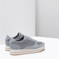 Image 3 of PLATFORM SNEAKER from Zara