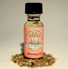 This particular blend does it all. It can cleanse, protect and send back negative energy! Made with Nettle, Lemon, Mullein, Pennroyal, Crab Shell Powder, Black Salt and  other potent herbs, resins, and oil, Reversing Oil is perhaps one of strongest blends.