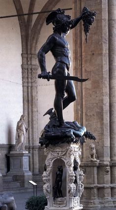 "italianartsociety: "" Happy Birthday Benvenuto Cellini! The artist was born on 3 November 1500. One of the greatest sculptors of his generation, Cellini worked in gold, bronze, and marble. Among his..."