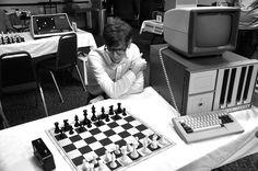 Immagine tratta dal film Computer Chess (2013) di Andrew Bujalski