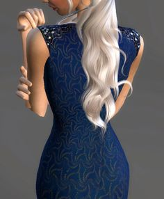Game Of Thrones Collection [Part Targaryen Blue Cutout Dress Worn in Season This is the first part of a few costumes I plan of recreating. Let me know which GOT costumes you want. Game Of Thrones Dress, Sims 4 Controls, Sims Medieval, Got Costumes, Sims 4 Mm, Sims 4 Clothing, The Sims4, Ts4 Cc, Sims 4 Custom Content