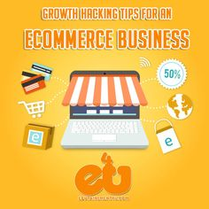 Growth Hacking Tips for an Ecommerce Business Business Entrepreneur, Business Marketing, Growth Hacking, Ecommerce, Digital Marketing, Hacks, Tips, E Commerce, Counseling